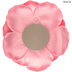 Hot Pink Wild Rose Wall Decor - Large
